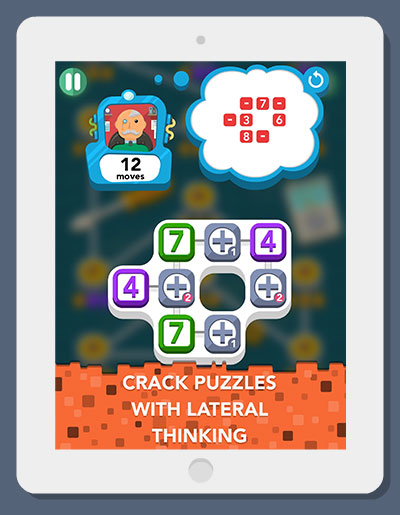 Sum Idea - Free-to-play iOS logic number puzzle - Mind Maze Gameplay