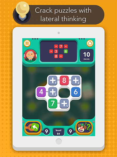 Sum Idea - Free-to-play iOS logic number puzzle - Puzzle gameplay