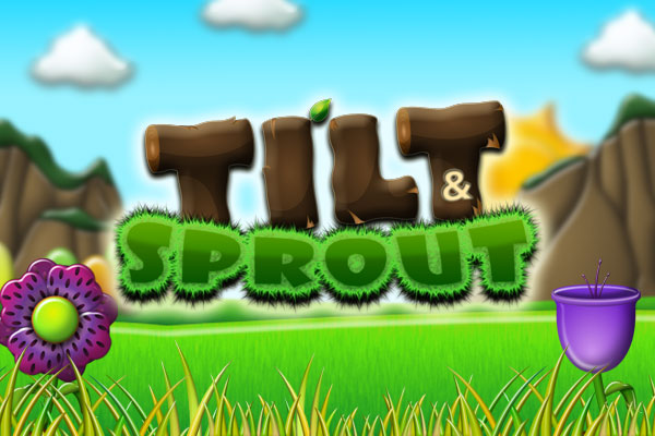 Tilt and Sprout - A free-to-play grow 'em up, flower, puzzle game that will test your super green fingered reflexes on iPhone, iPad and iPod touch. Download for free from the App Store.