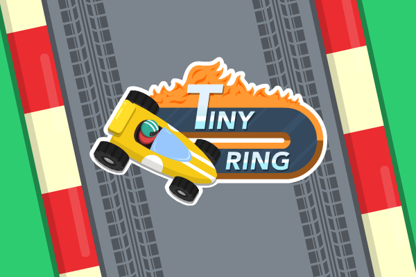 Tiny Ring - Endless iOS racing game