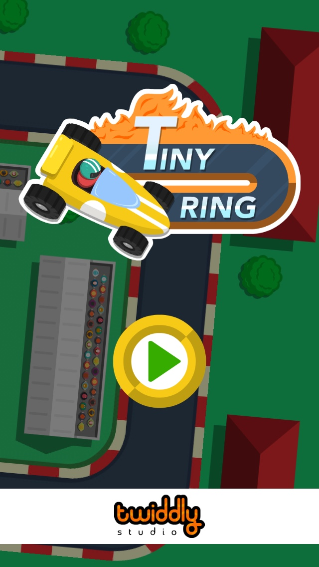 Tiny Ring - Free-to-play iOS endless racing game - Tiny Ring intro