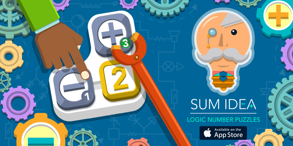 Sum Idea - An original logic number puzzle - Out Now for iPhone, iPod touch and iPad