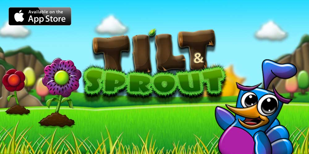 Tilt & Sprout for iPhone, iPod Touch and iPad